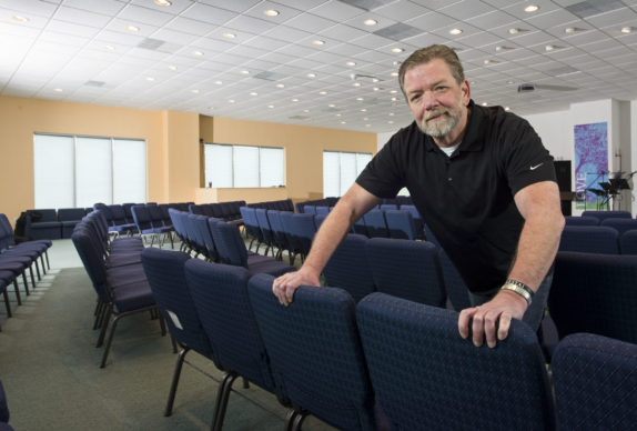 A first step: Church for recovering addicts and 'normals' finds a new home