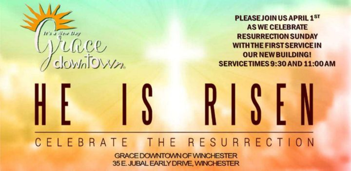 An Easter message from Grace Downtown of Winchester