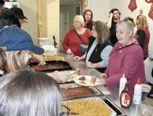 'There's a lot of love' in church's monthly meals