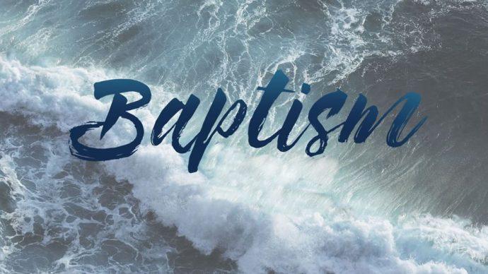 Baptism!