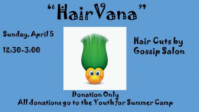 Hairvana – Hair Cut Fundraiser
