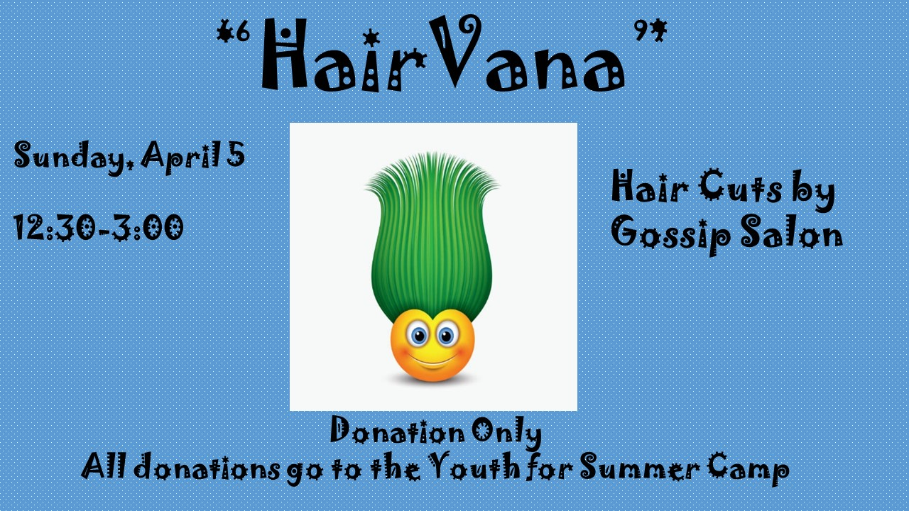 Hairvana - Hair Cut Fundraiser