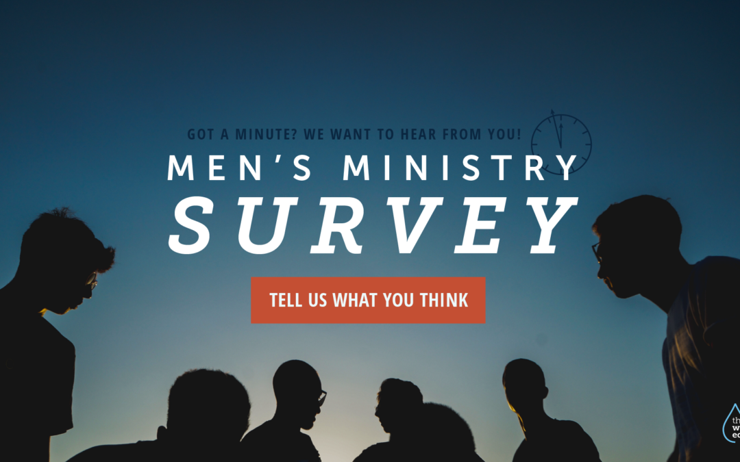 Men's Ministry Survey